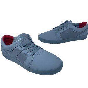 Supra Mens Ineto Skate Shoes Gray 08041-014 New